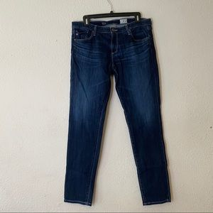 Adriano Goldschmied Dark Wash Stilt Jeans SZ 32R